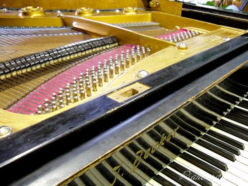 Старый рояль J. Becker