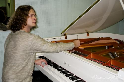 Настройка рояля Yamaha