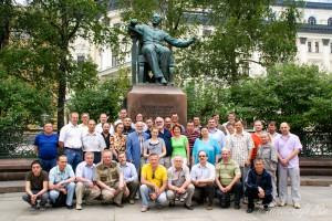 Общая фотография участников семинара Гюнтера Шабле