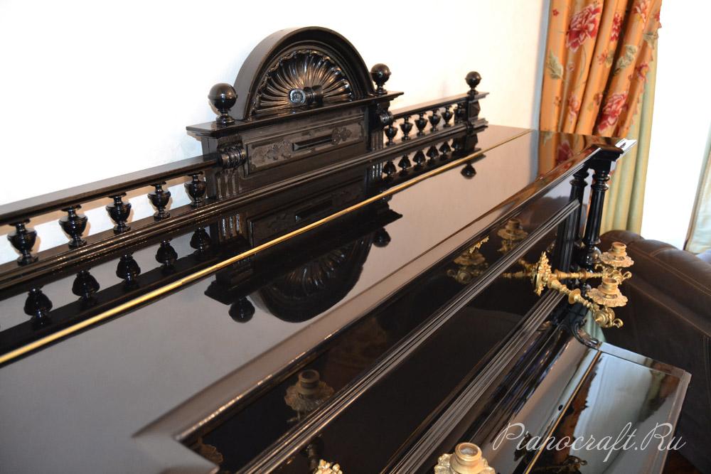 Реставрация пианино J.TRESSELT