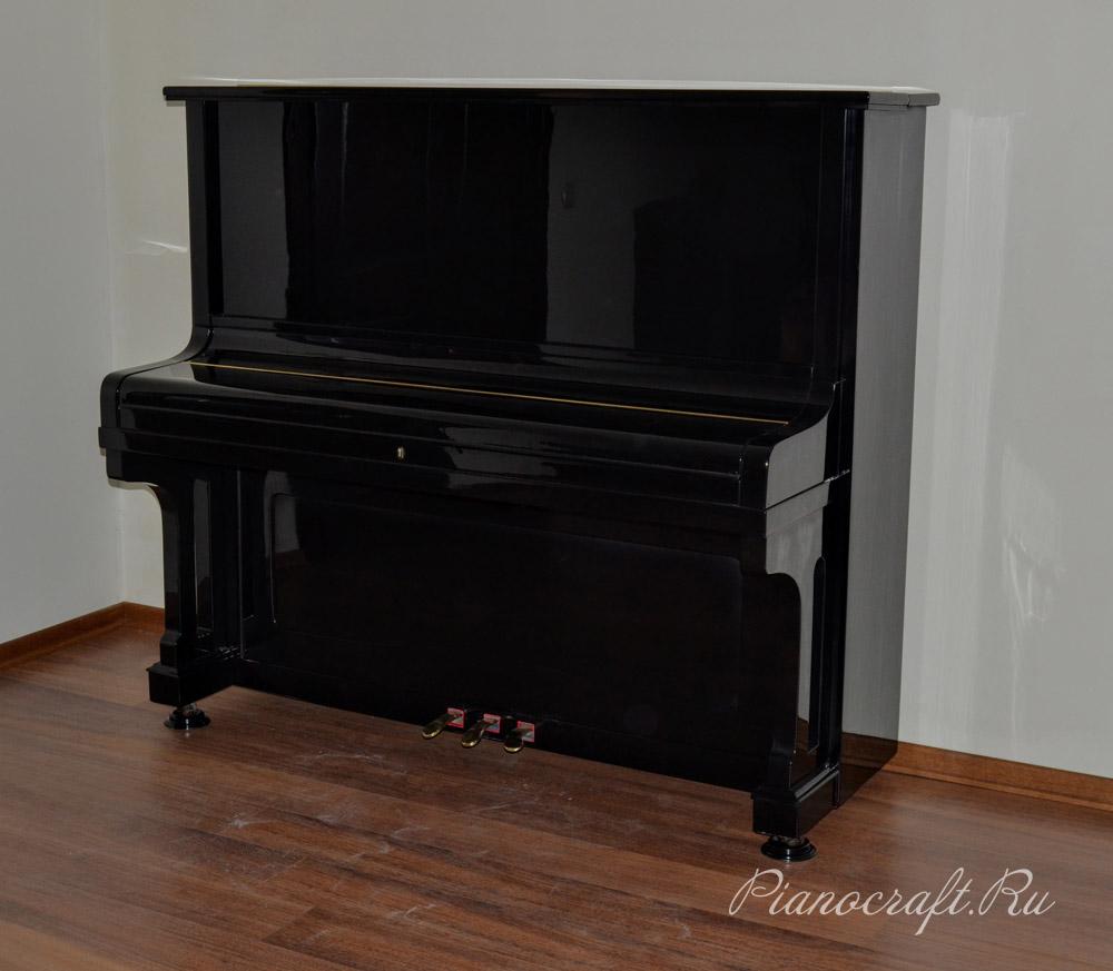Реставрация пианино August Forster