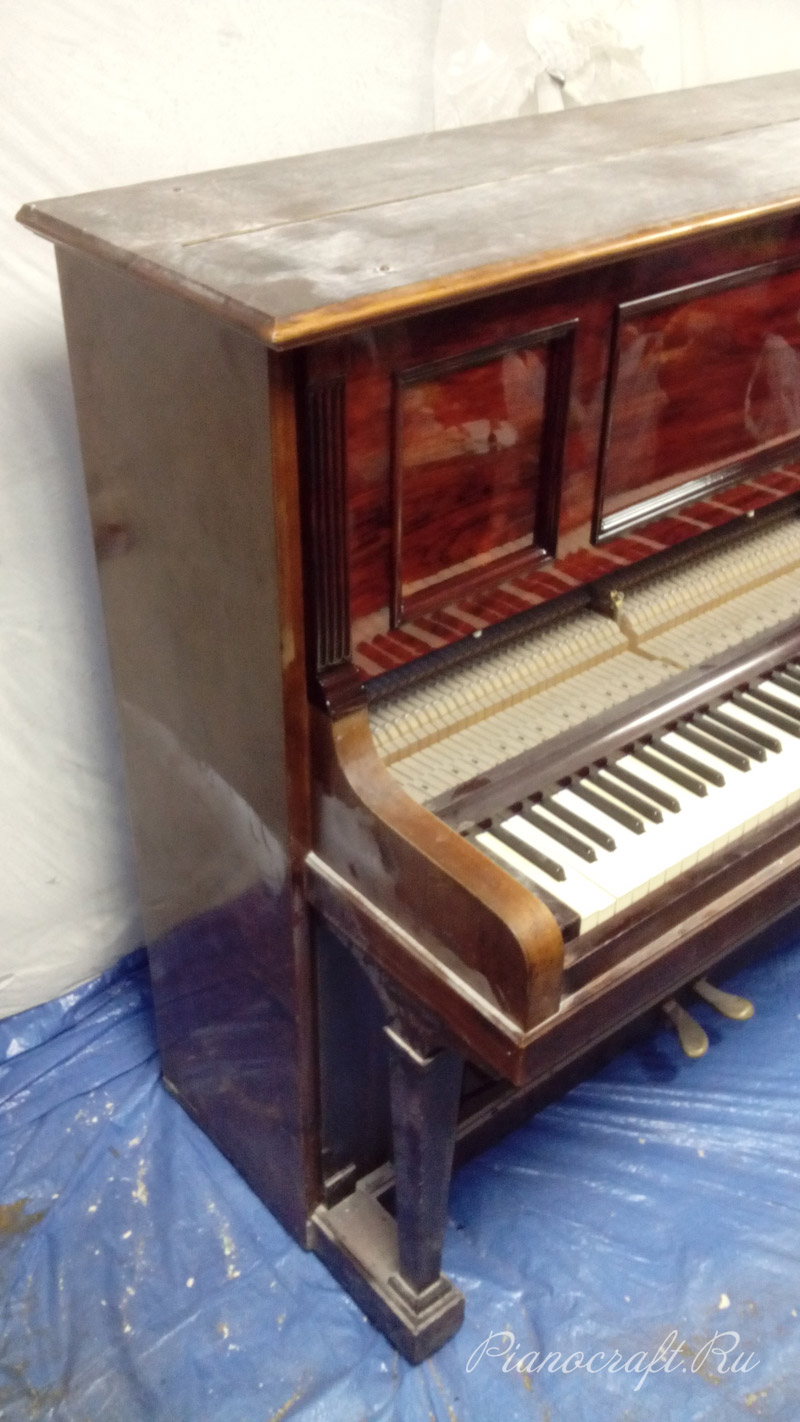 Реставрация пианино Блютнер