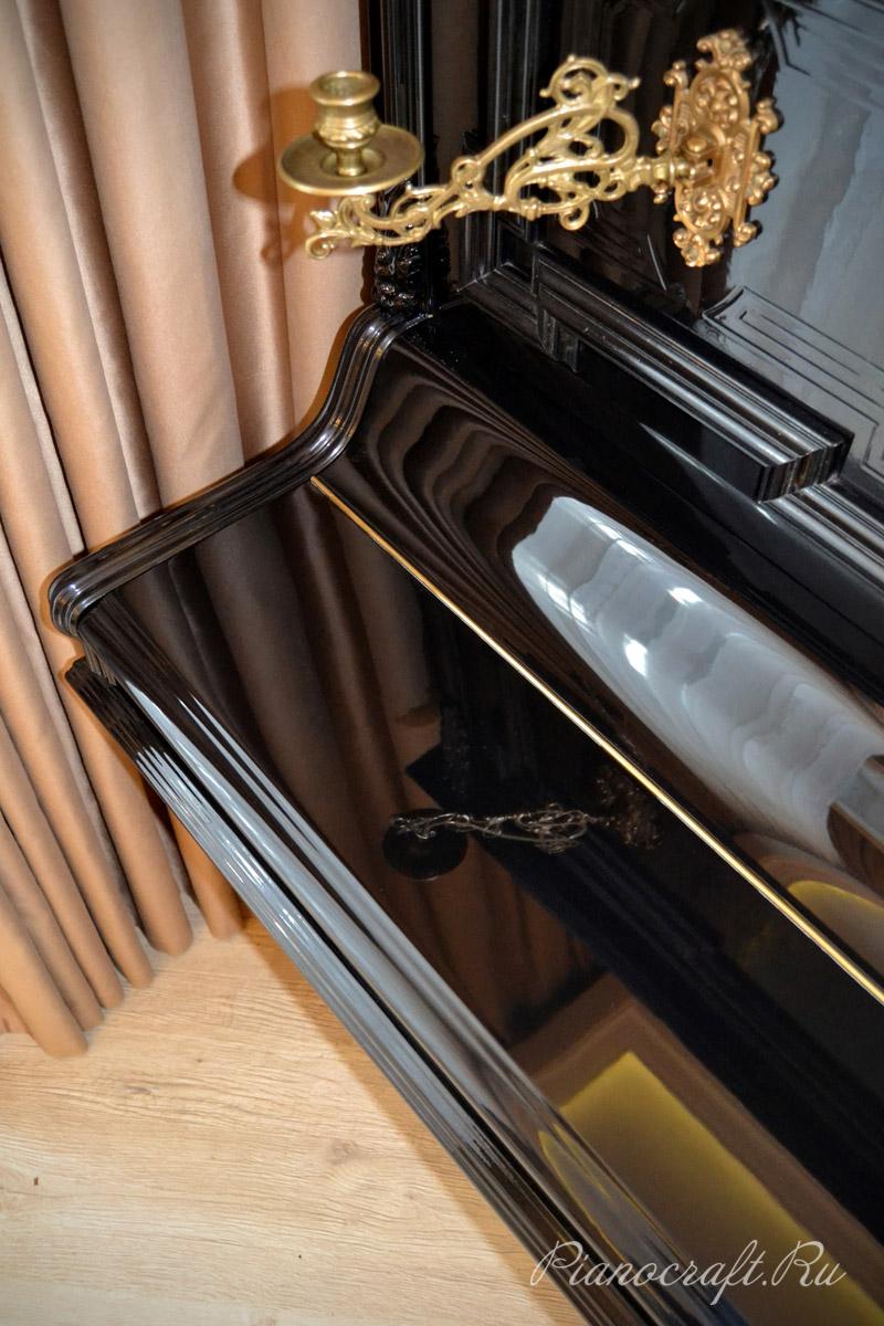 Реставрация пианино Goetze