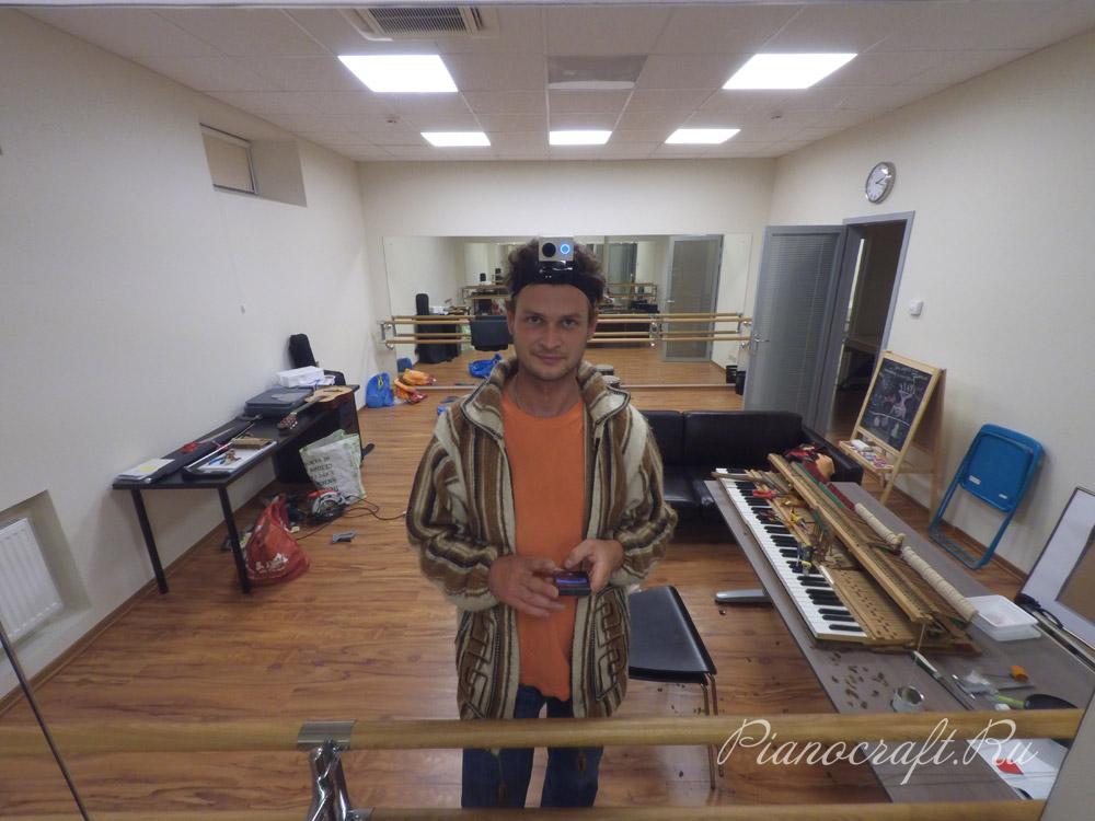 Реставрация рояля Плеель