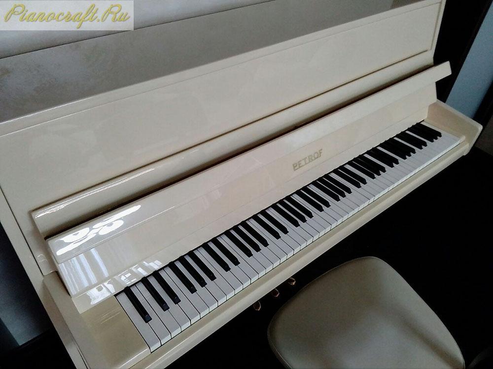 Перекрас пианино PETROF в необычный цвет по каталогу ral 1015