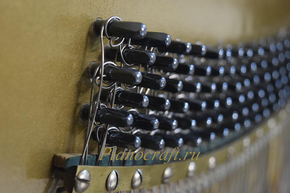Реставрация деки, вирбельбанка, клавишей, механики пианино STURZWAGE